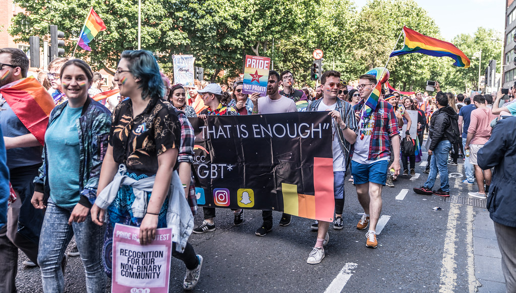 LGBTQ+ PRIDE PARADE 2017 [ON THE WAY FROM STEPHENS GREEN TO SMITHFIELD]-130051