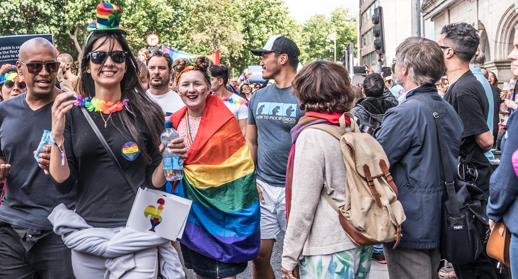 LGBTQ+ PRIDE PARADE 2017 [ON THE WAY FROM STEPHENS GREEN TO SMITHFIELD]-130159