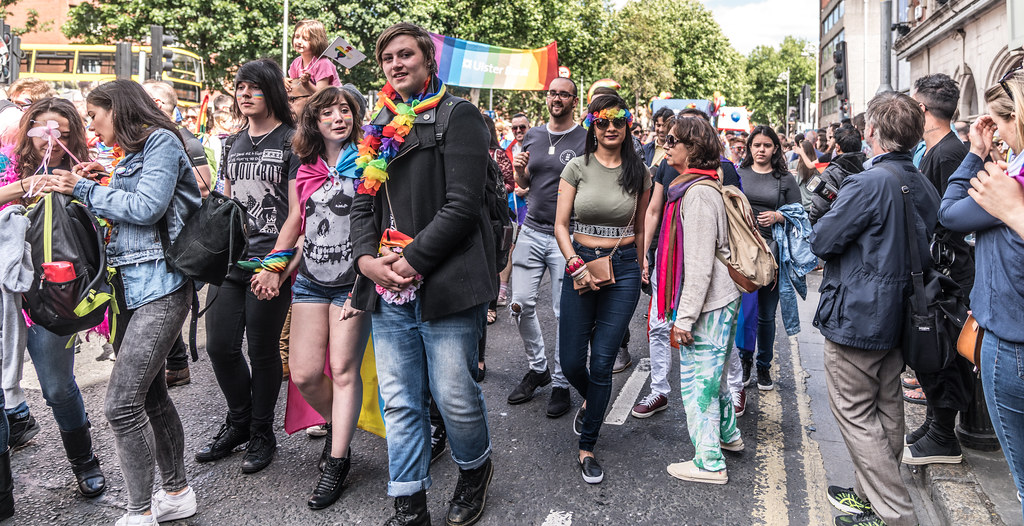 LGBTQ+ PRIDE PARADE 2017 [ON THE WAY FROM STEPHENS GREEN TO SMITHFIELD]-130161