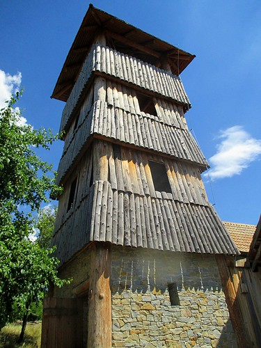 Archeoskanzen - věž