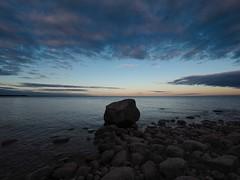 Magic rock (Jarno Nurminen) Tags: water rocks shore finland emäsalo porvoo balticsea sea clouds olympus olympusinspired