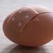Emergency Room (Inky-NL) Tags: macromondays egg injury broken pleister plaster wound bandage ei gebroken macro emergency er ehbo mm hmm fuji fujixt2 fujixf60mmf24 eggshell shell schaal eierschaal barst emergencyroom