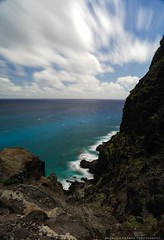 Edge Walking (Brandon Kapana Photography) Tags: aloha makapuu hawaii sony alpha a99ii sonyalpha breakthrough breakthroughfilters 3stop 6stop cpl cliffs ocean mountain