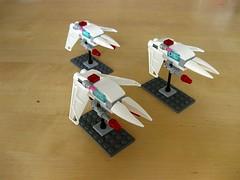 B-class frigates (Starflower.6) Tags: mobile frame zero mfz intercept orbit lego