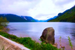 Chilkoot Lake, Alaska (Explored) (JLS Photography - Alaska) Tags: alaska alaskalandscape landscape landscapes lake chilkootlake water watercourse waterfront beautifulscenery jlsphotographyalaska mountains nature north outdoor scenery spring travel wilderness painterly serene