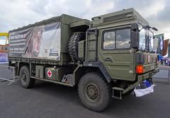 British Army MAN Support Truck, 4th Jul 2015 (nathanlawrence785) Tags: psni police car audi antrim giro ditalia gran fondo 2014 british army man sv crane jcb logistics wmik