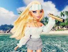 """Sabrina's Star School 2: Week 5 """"Nautical By Nature"""" - Tara Dikov (Bratzjaderox™) Tags: tara dikov nautical sabrina star school sss pirate ocean sailor hot bitch myscene barbie bratz mga mattel dolls"""