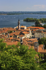 Arona on Major lake (filippi antonio) Tags: arona lagomaggiore piemonte italy city cityscape lake italianlake landscape canon trip travel tourism holidays outdoor immaginidalnord filippiantonio