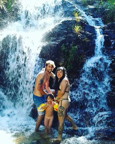#♡ #vidaboa #família  #amor  #Cachoeira  #altoparaiso  #Goiás  #Chapadadosveadeiros