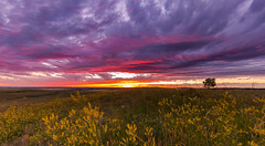 Sunset from Diamond Butte (chasingthewildoutdoors) Tags: chasingthewildoutdoors landscape sky rocks badlands canon 5dmkii sigma sigmalens montana mt 406 beauty sunrise sunset skyscape nature photography natural