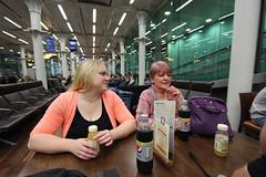 Waiting at St. Pancras International for the Eurostar to Avignon (ec1jack) Tags: london eurostar stpancrasinternationalstation stpancras international train station england britain uk europe waiting room kierankelly canoneos600d ec1jack june 2017