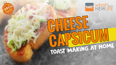 Cheese Capsicum Toast Making at Home - Cooking Funda (whatsnewlife) Tags: food tastyfood recipe