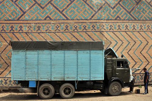 truck, Samarkand
