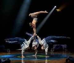 Amaluna - Cirque du Soleil (R.o.b.e.r.t.o.) Tags: touringshow teatro circo spettacolo italia italy roma tordiquinto boys ragazzi atleti acrobati girl ragazza artisti circus luci light