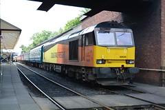 "Colas Rail Freight Class 60, 60026 (37190 ""Dalzell"") Tags: colasrail orangeyellowblack brush type5 doughnut tug class60 60026 dieselgala elr eastlancashirerailway boltonstreet bury"