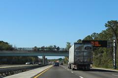 Florida I95nb trail Overpass, Flagler County (MJRGoblin) Tags: palmcoast florida flaglercounty 2017 interstate95