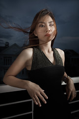 asian night II (polo.d) Tags: asian girl portrait night strobe outdoor wind windy beauty dramatic vietnamese woman face