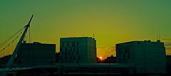 Amanece en la Milla Digital (portalealba) Tags: zaragoza aragon españa spain sunset sol portalealba pentax pentaxk50 1001nights 1001nightsmagiccity