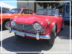 Triumph TR4 A IRS, 1965 (v8dub) Tags: triumph tr 4 a irs 1965 schweiz suisse switzerland bleienbach british roadster pkw voiture car wagen worldcars auto automobile automotive old oldtimer oldcar klassik classic collector