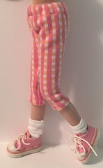 Peach and Pink Capri Pants...For Blythe...