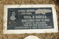 Sofia (Midnight Believer) Tags: holyhopecatholiccemetery headstone tombstone gravestone graveyard death americansouthwest finalrestingplace tucsonarizona
