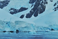 Glaciers on the Antarctic Peninsula. (Ruby 2417) Tags: antarctica antarctic peninsula glaciers