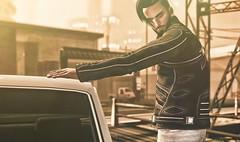 Drive (EL.Bond) Tags: car style waiting dof looking thinking light sunlight summer lb tmd israudr nardcotix manly man urban davidcooper|letre doux