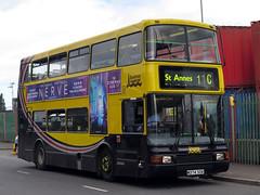 Blackpool Transport 374 Volvo Olympian 9.6m w/ Northern Counties Palatine II M374SCK - NWVRT Running Day 2017 (FF3170) Tags: olympian liverpool merseyside kirkby nwvrt cummins l10 zf ecomat 4hp500