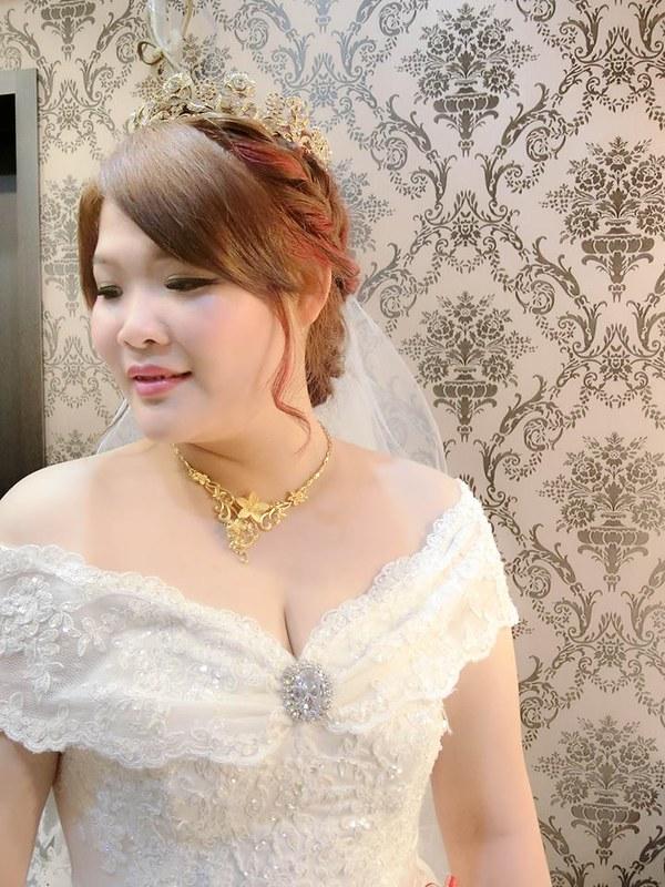 嘉義新秘,新秘,新娘秘書,船老大囍宴餐廳 ,結婚造型