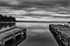 Gros Cap Docks (Bryan O'Toole) Tags: groscap groscapmarina princetownship saultstemarie ontario canada northernontario waterscape bw docks landscape scenic nikon nikond810 nikkorafs2470mmf28 kenkopro1dcpfilter leefilters lee9softgndfilter longexposure niksilverefexpro lakesuperior stmarysriver