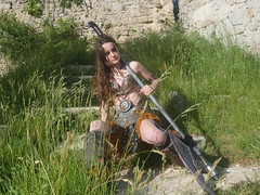 Shooting Skyrim - Ruines d'Allan -2017-06-03- P2090662 (styeb) Tags: shoot shooting skyrim allan ruine village drome montelimar 2017 juin 06 cosplay