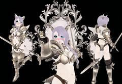 Battle Cat (SerenitySemple) Tags: secondlife furry fashion barerose bento ayashi whimsical kreaokujisawa cubiccherry cubiccherrykreations vintagefair weheartrp fantasy anime mokyu animehead kawaii