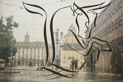 Il simbolo di Torino - The symbol of Turin. (sinetempore) Tags: ilsimboloditorino thesymbolofturin torino turin piazzacastello toro bull stemma arms
