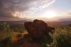 roterStein (tobias-eger) Tags: blackforest nature landscape sky horizon clouds sunset stone red canon schwarzwald natur landschaft rot stein sonnenuntergang wolken horizont himmel