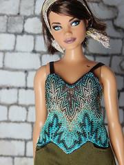 Summer Boho collection (Levitation_inc.) Tags: fashion royalty doll dolls handmade fashions outfits etsy boho barbie nuface poppy parker levitation summer knit shirt top curvy luna