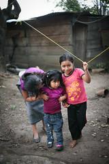 Girls and Clothesline (mayanfamilies) Tags: guatemala fundaciónfamiliamaya mayanfamilies mayan families charity donate canon eos 5d vitamins vitaminangels distribution