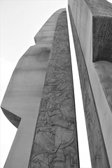 Monument Colorless (Jane Inman Stormer) Tags: sculpture monument war relief blade line southkorea memorial seoul
