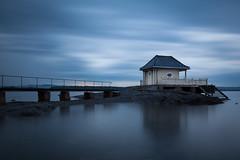 Evening (Lars Øverbø) Tags: fornebu norge norway oslo sky clouds evening house building water sea outdoor bridge pier seascape seashore jetty canoneos5dmarkii canonef1635mmf4lusm leesmallstopper