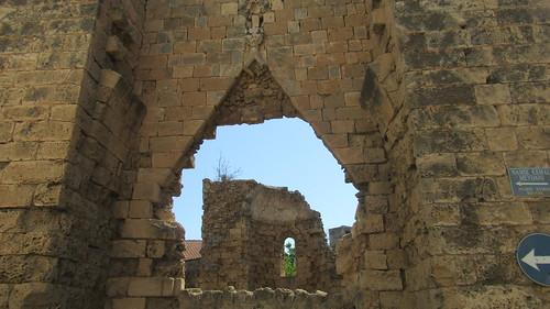 Church in ruins, Famagusta