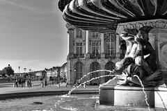 Place de la Bourse - Bordeaux (@phr_photo) Tags: bordeaux unesco placedelabourse france fontaine été summer ville city urban water eau