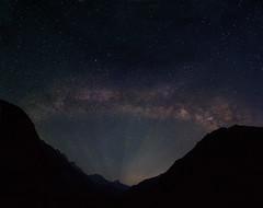 Rise of the Milkyway (Ashmalikphotography) Tags: milkyway lightpollution astrophotography riseofmilkyway panorama billionstars lifemeinekbaar colorful risenshine