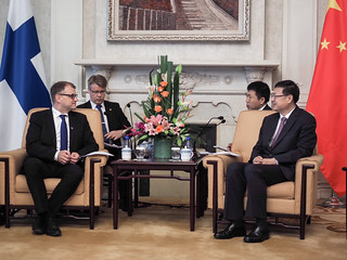 Prime MInister Juha Sipilä in China 26.-30.6.2017