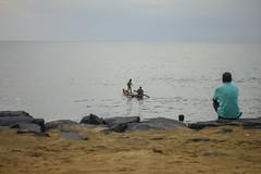 Fishing (Balaji Bharadwaj) Tags: fishermen seaside pondicherry
