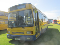 Yellow Buses Dennis Dart Bournemouth Bus Rally 10/6/17 (Mainline421) Tags: m455 llj m455llj 455 bournemouth coporation transport