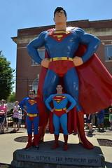 """Superman Celebration 2017 (Vinny Gragg) Tags: •template """"roadsideattraction"""" """"roadsideattractions"""" """"mufflerman"""" """"mufflermen"""" """"roadsidestatue"""" """"roadsidegiants"""" """"roadsidestatues"""" """"bigguys"""" """"roadsideoddities"""" statues statue """"roadsideart"""" giants """"fiberglassstatue"""" """"fiberglassstatues"""" fiberglass sign signs costumes cosplay dccomics dc """"justiceleagueofamerica"""" jla superheroes superhero comics comicbooks comicbook villian villians supervillian supervillians superman superfest manofsteel supermancelebration2017 supermancelebration 2017 metropolisillinois metropolis illinois supermanstatue"""