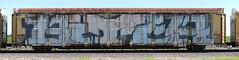 Biter (quiet-silence) Tags: graffiti graff freight fr8 train railroad railcar art biter wholecar roller autorack cn canadiannational cna704706