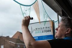 Chris_venstertekenen_DSC_0272 (Chris Perdieus) Tags: chrisper kruisstraat niels fietsenwinkel venstertekenen venstertekening