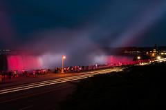 Canada 150 Celebration (swanhetmanczyk1) Tags: canada 150 nikon niagarafalls waterfall night longexposure d7100