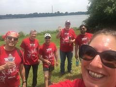 Arlington WTW DC Potomac selfie