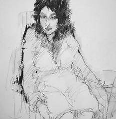 P1016591 (Gasheh) Tags: art painting drawing sketch portrait figure pencil gasheh 2015